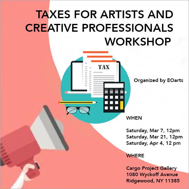 Taxes for Creatives Workshop 1