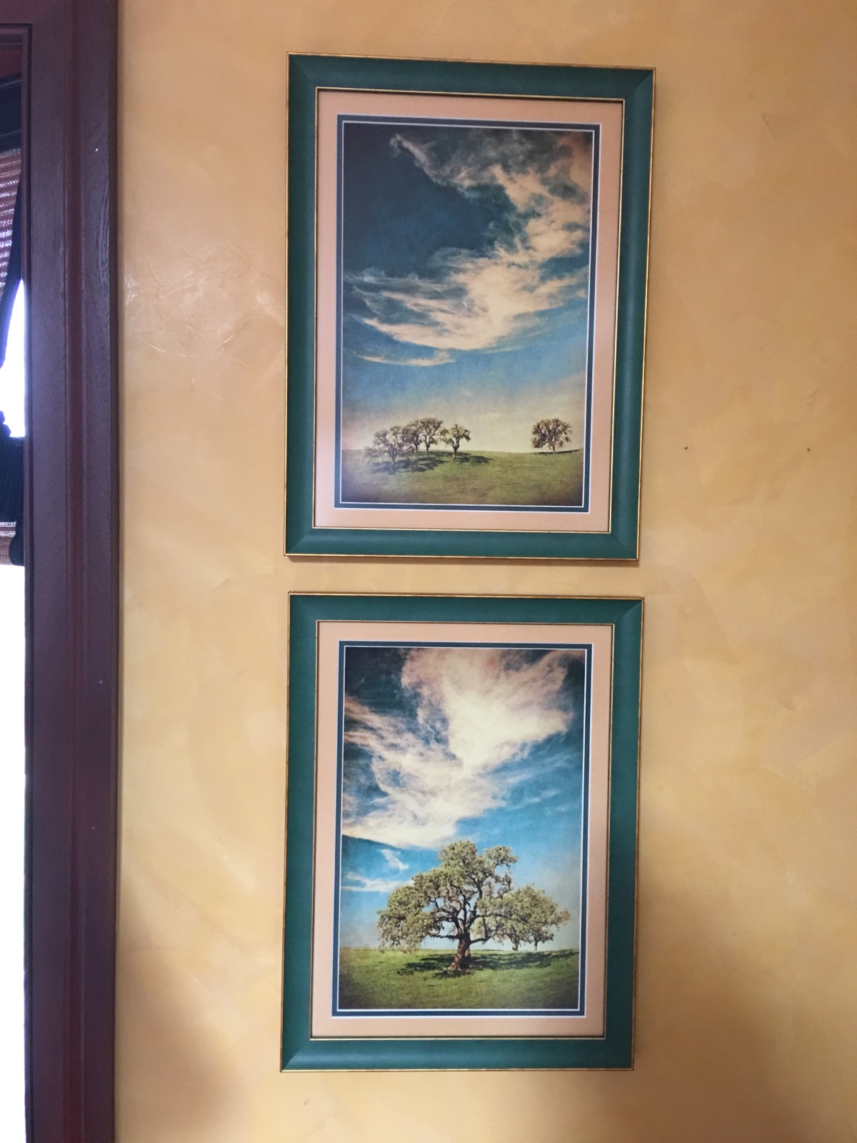 colorful custom framing