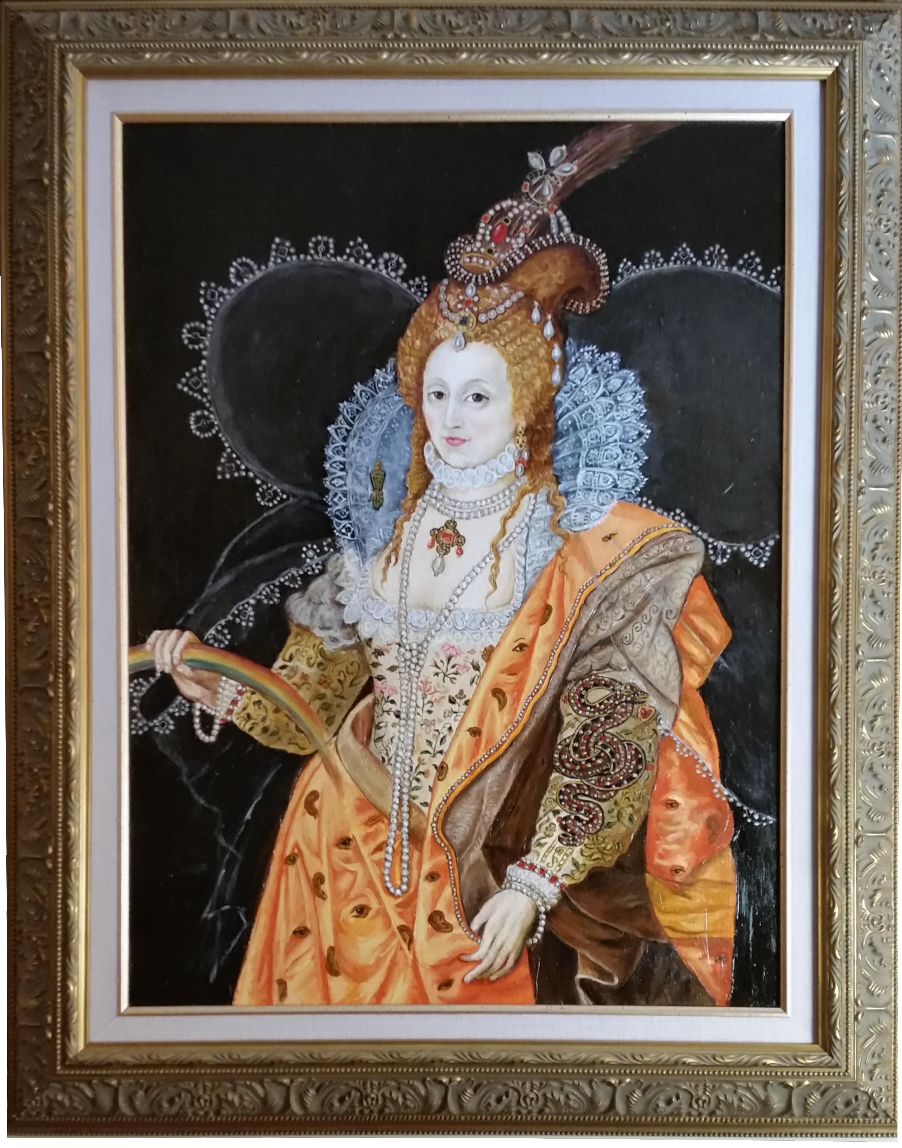 Elizabeth l Rainbow Portrait