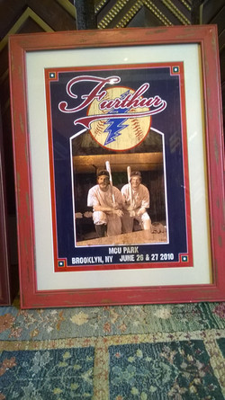 Baseball Memorabilia custom frame