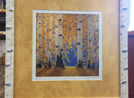 The Most Fun Picture Frame - Birch Tree Molding