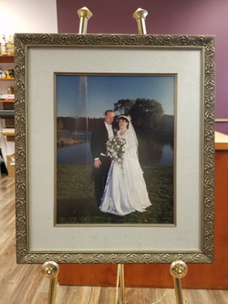 Village Frame Shop Wedding Photo