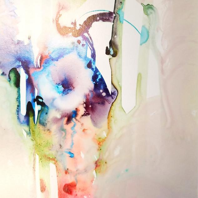 Lilliana Washburn Yupo Paper and Acid Ink