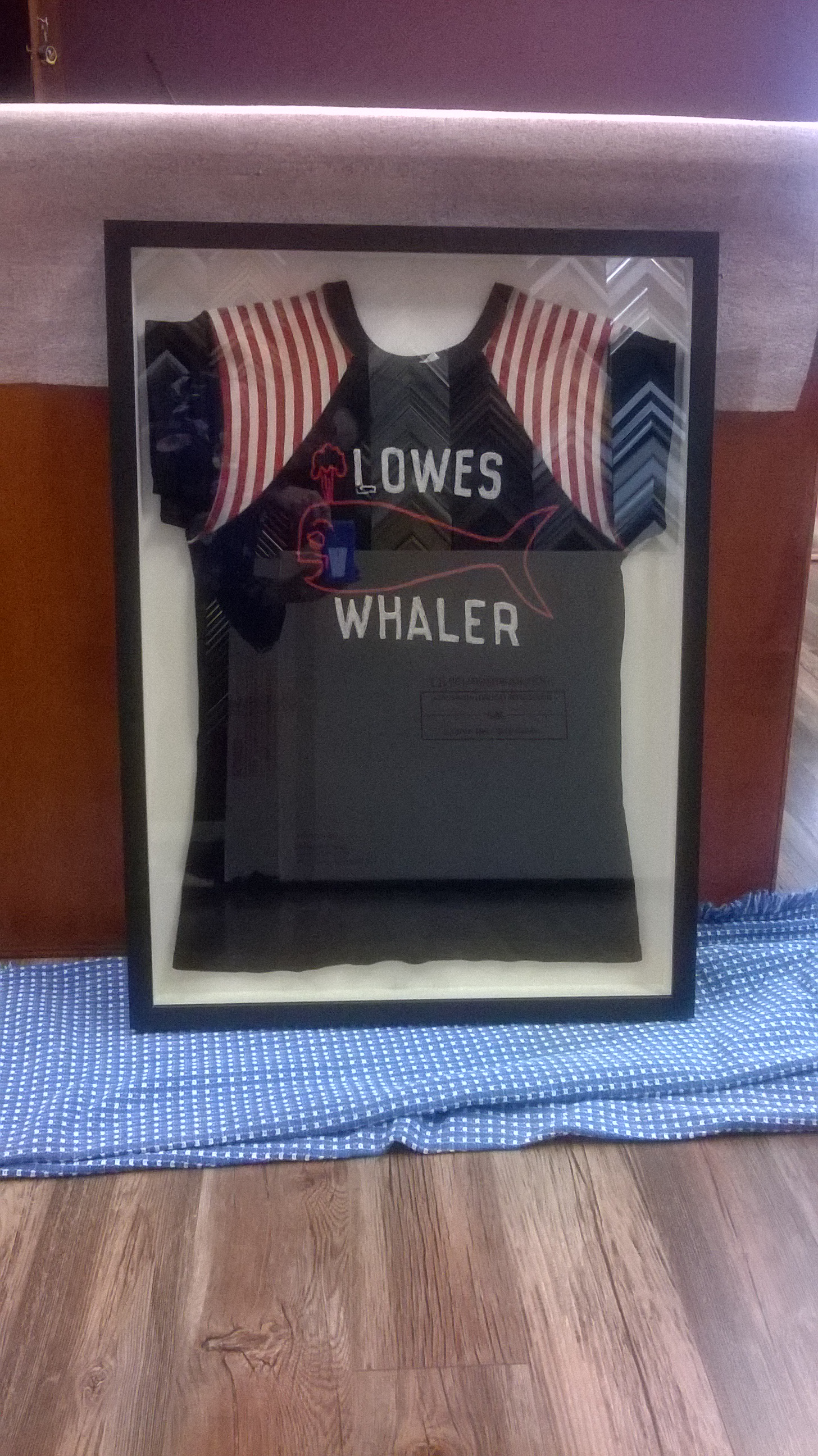 framed Jersey Shadow Box