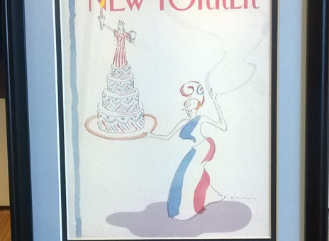 New Yorker Magazine Print All Ready To Go