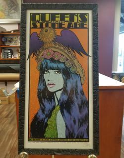 Artist Chuck Sperry - Rock Poster