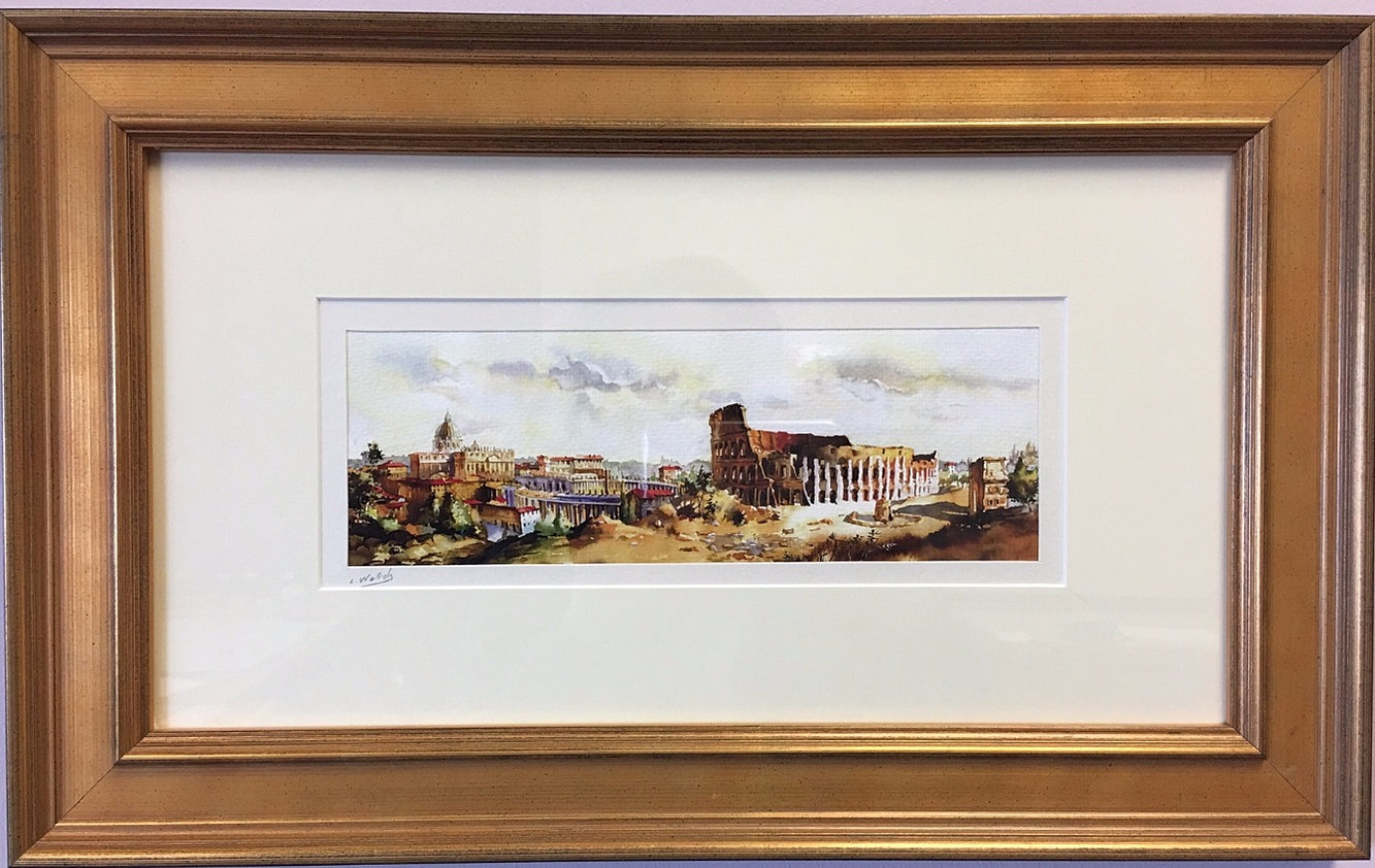 The village frame shop local artist gallery conservation framing classic picture frame custom frame jeuxipadfo Images
