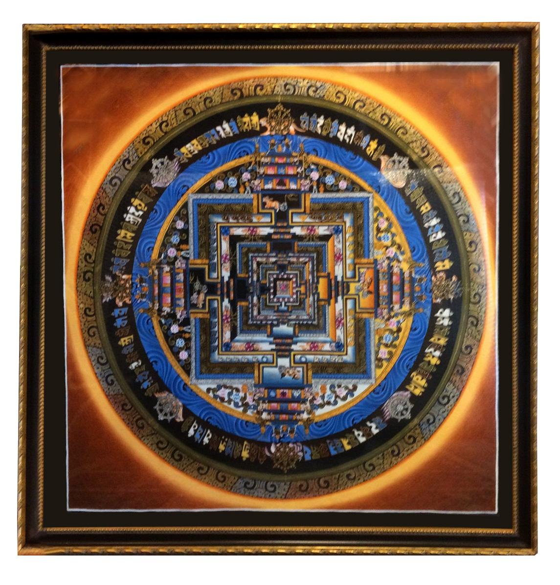 Tibet Mandala The Village Frame Shop