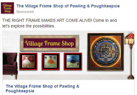 facebook The Village Frames Shops of Pawling and Poughkeepsie