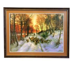 Custom painting framed Dutchess