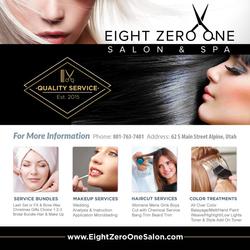 Eight Zero One Ad