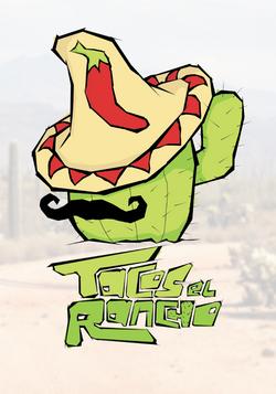 Tacos El Rancho Logo Design