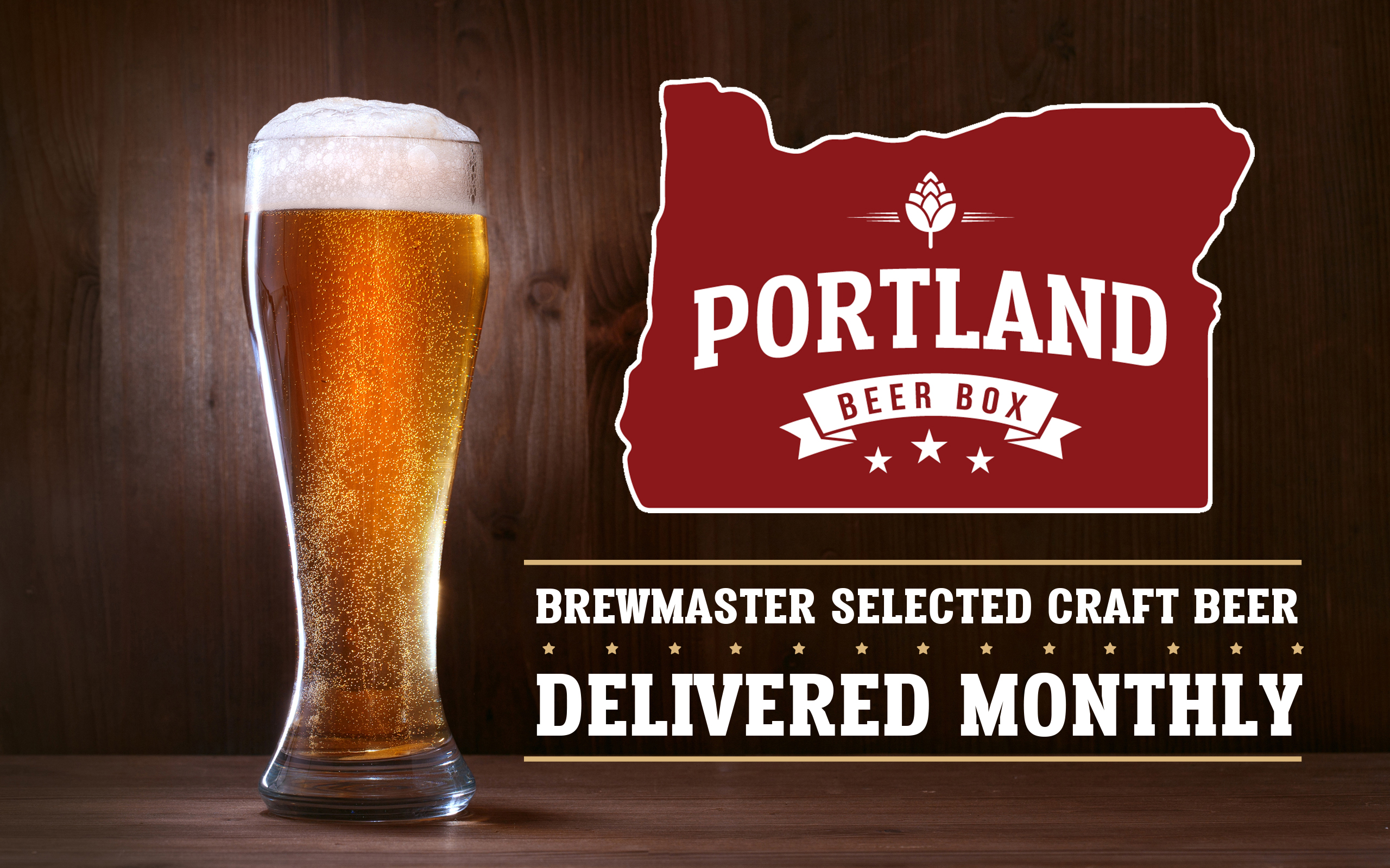 Portland Beer Box Logo & Branding