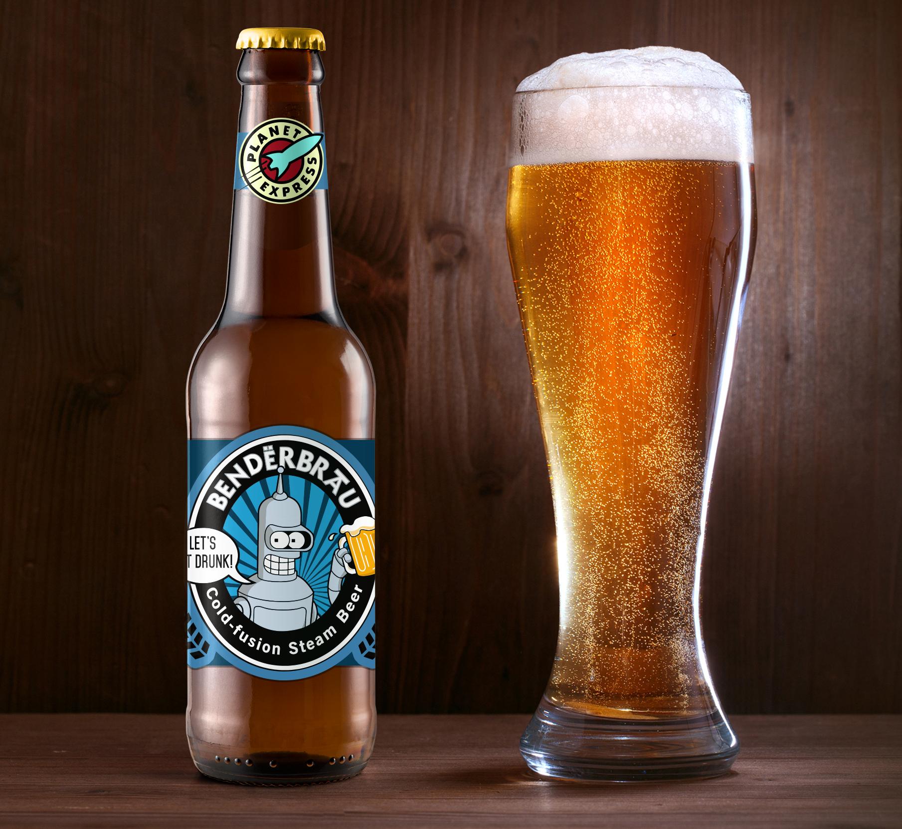 Bender Ale Beer Logo