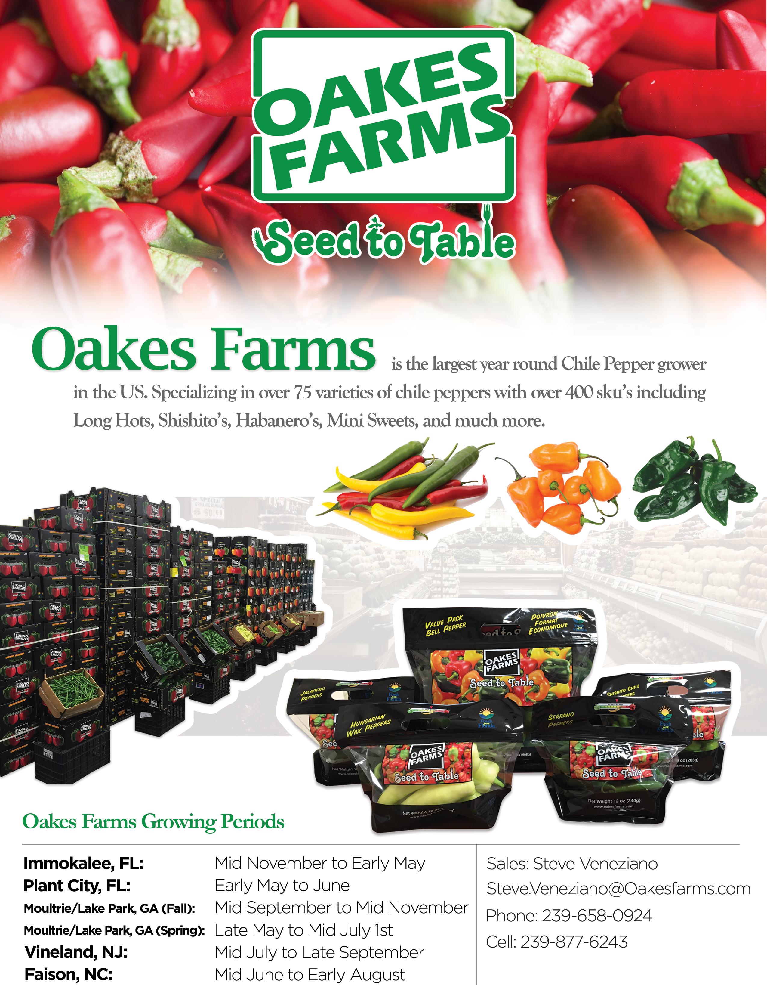 Oakes Farms Chili Pepper Ad