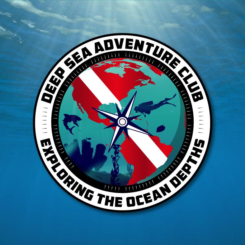Deep Sea Adventure Club Logo