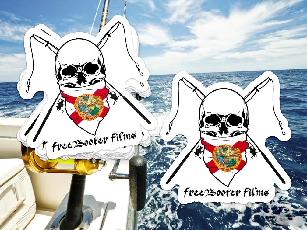 FreeBooterFilms Sticker Design