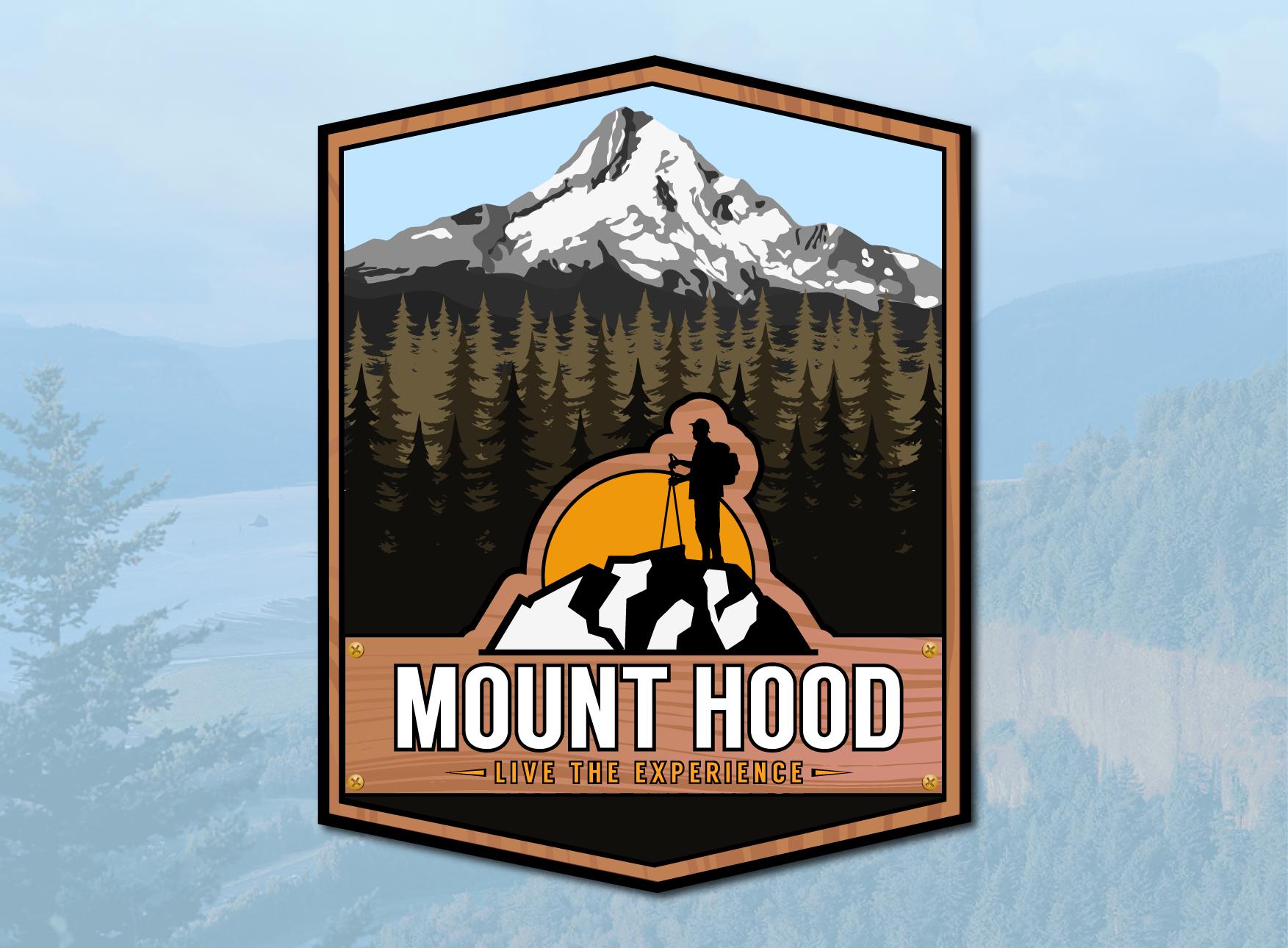 Mt. Hood Traveler Logo Design