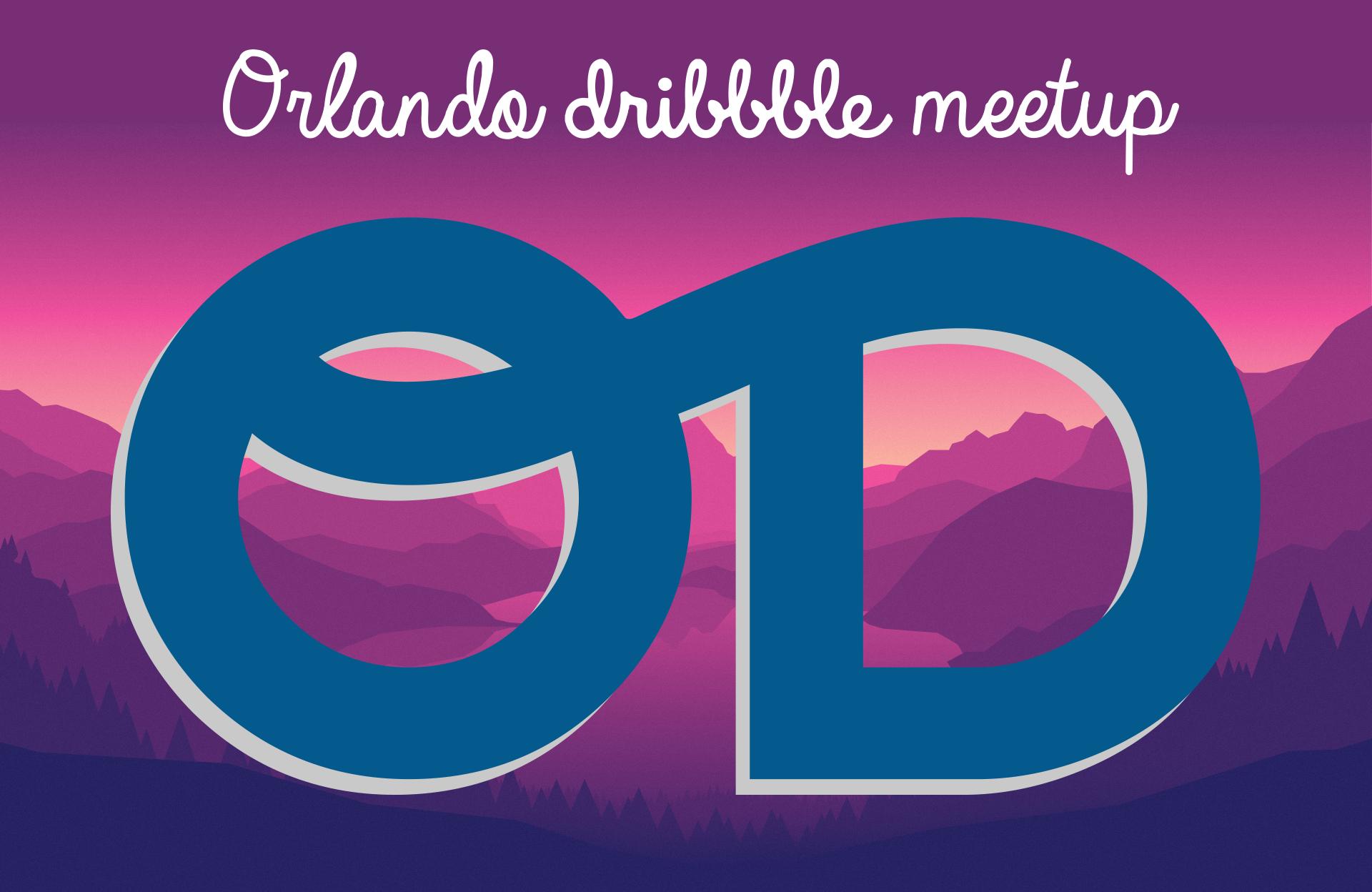 Orlando Dribbble Logo Development