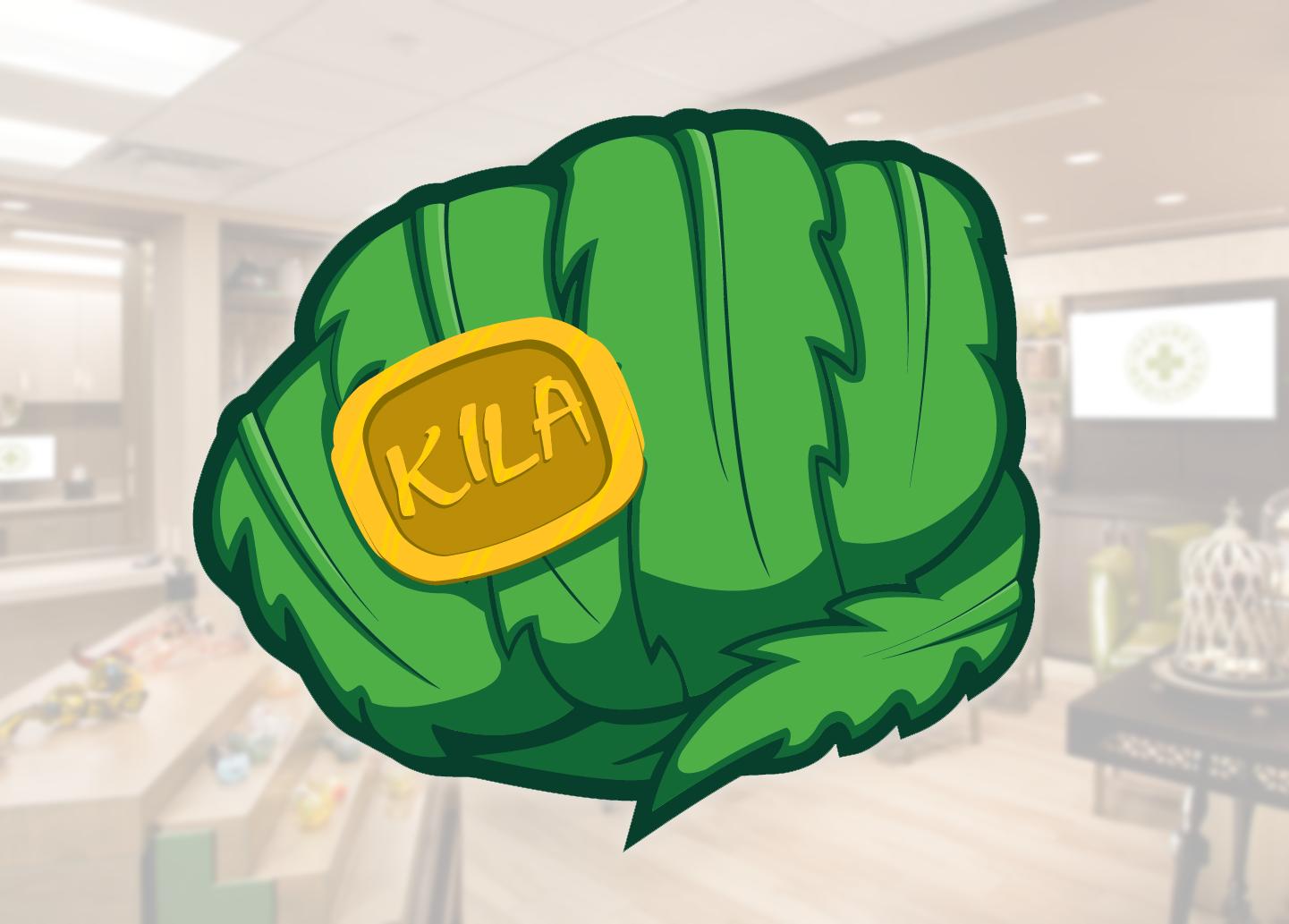 KILA Cannabis Dispensary Logo Design