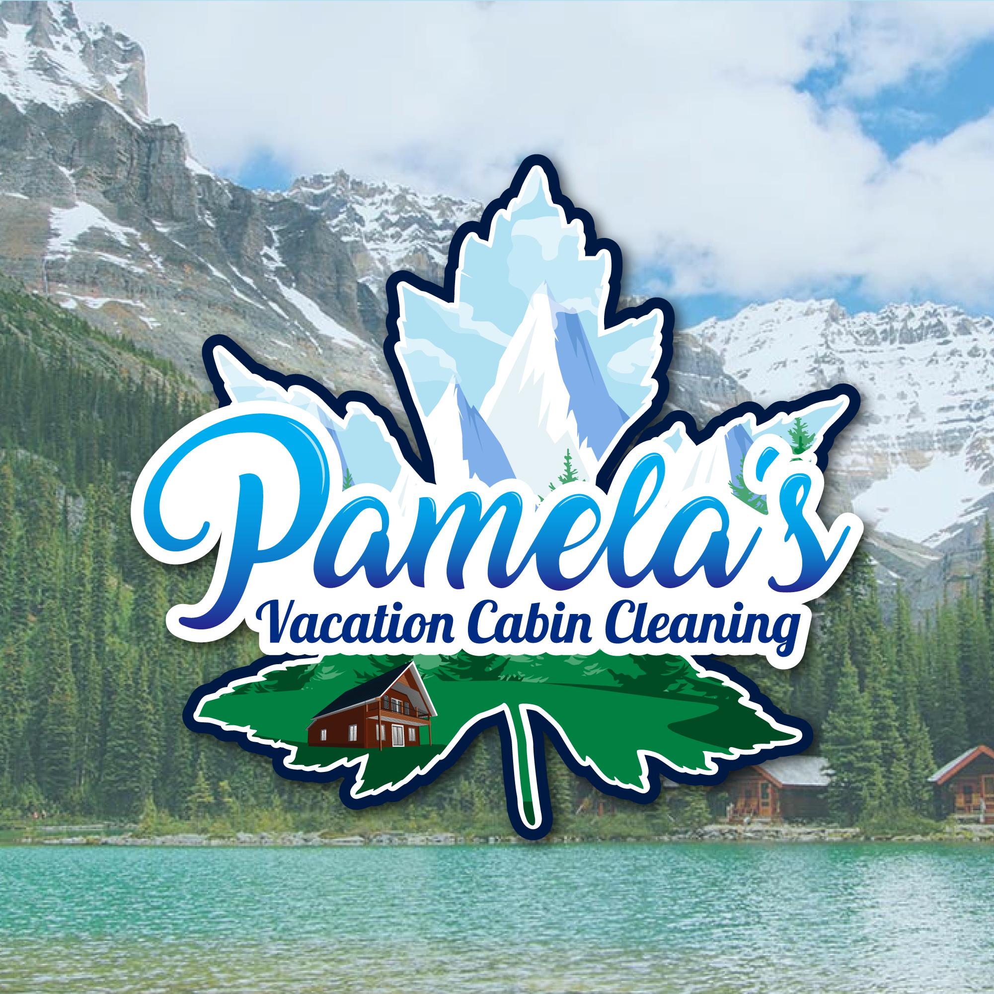 Pamelas Cabin Cleaning Logo