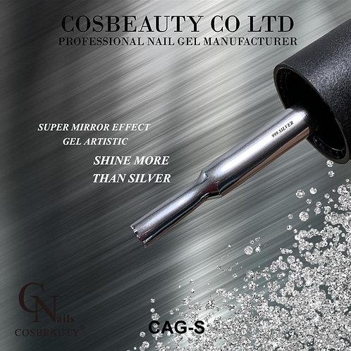 Mirror silver art gel CAG-S