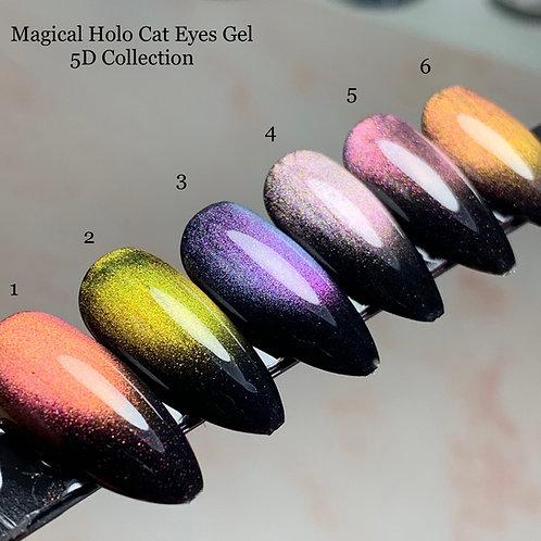Magcal Holo Cat Eyes Gel 5D