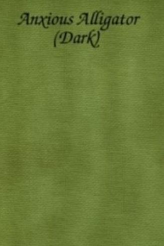 Anxious Alligator (Dark)   Hardanger   Silkweaver Fabric