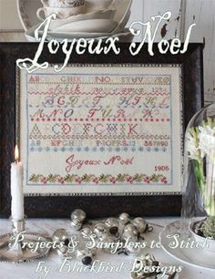 Joyeux Noel by Blackbird Designs