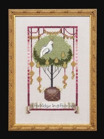 Partridge in a Pear Tree 12 Days of Christmas | Nora Corbett Designs