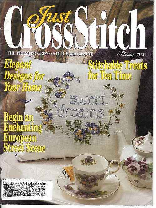 February 2001   Just Cross Stitch