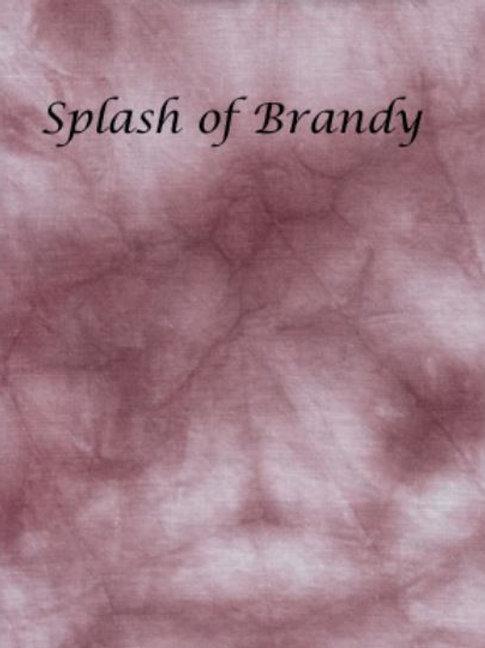 Splash of Brandy | Aida | Silkweaver Fabrics