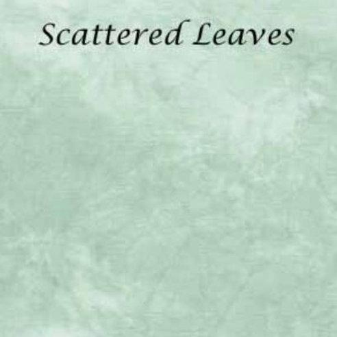 Scattered Leaves   Hardanger   Silkweaver Fabric