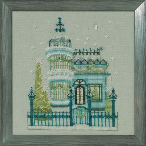 The Victorian House Holiday Village   Nora Corbett Designs