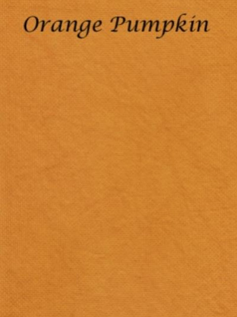 Orange Pumpkin | Hardanger | Silkweaver Fabric