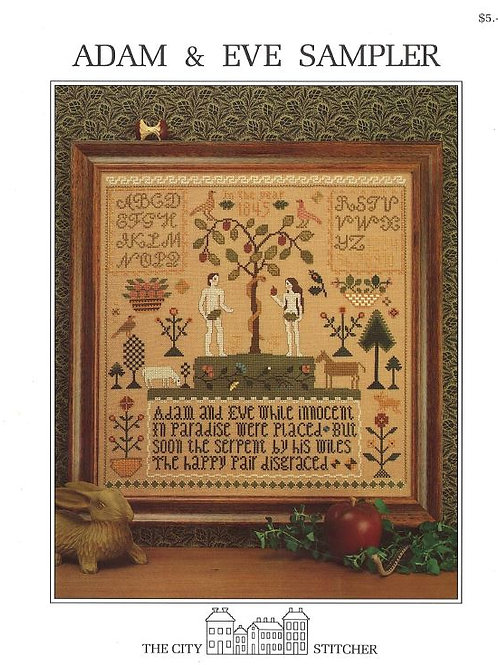 Adam & Eve Sampler | The City Stitcher