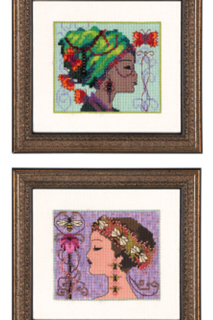 Bella Butterfly and Bella Bee Bella Portraits| Nora Corbett Designs