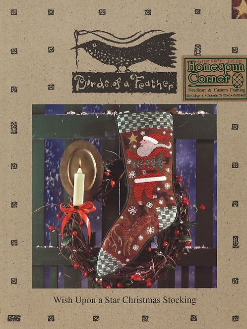 Wish Upon A Star Christmas Stocking | Birds of a Feather