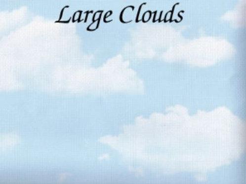 Large Clouds | Aida | Silkweaver Fabrics