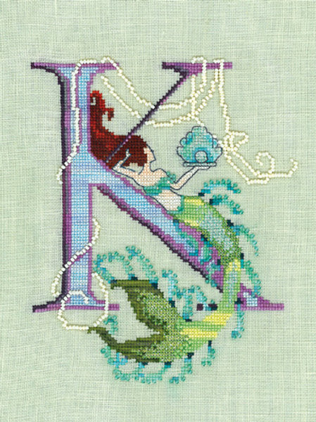 Letters From Mermaids - K | Nora Corbett Designs