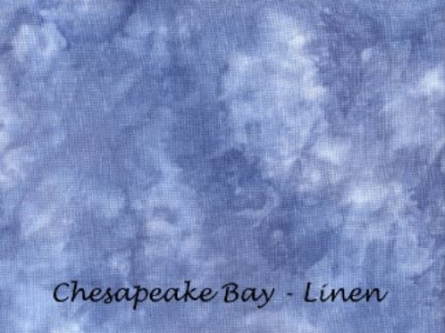 Chesapeake Bay | Evenweave | Under The Sea Fabrics