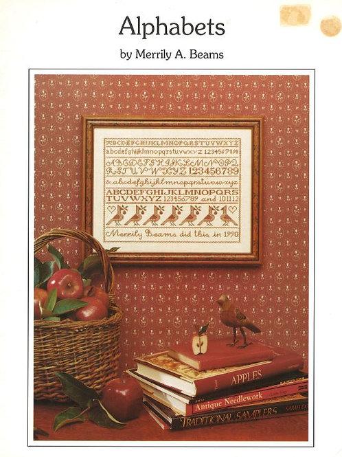 Alphabet Sampler | Merrily Beams