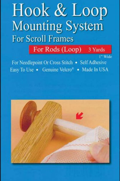 Loop No Basting System For Scroll Rods (Loop)