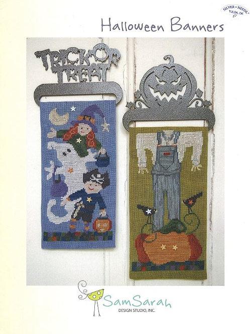 Halloween Banners | Sam Sarah Design Studio