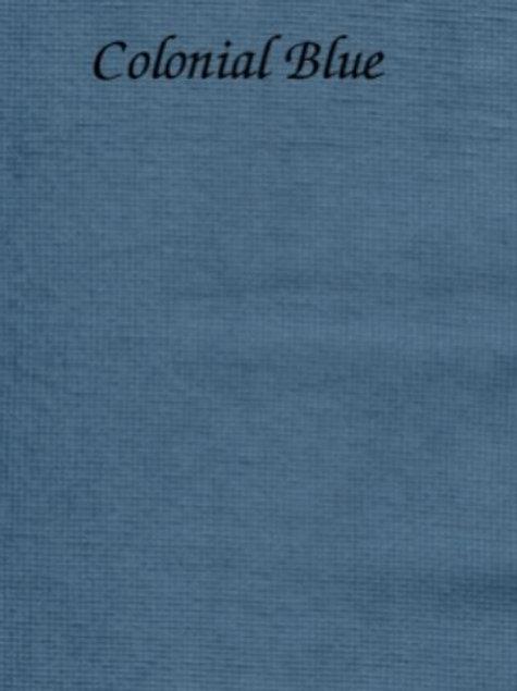 Colonial Blue | Hardanger | Silkweaver Fabric