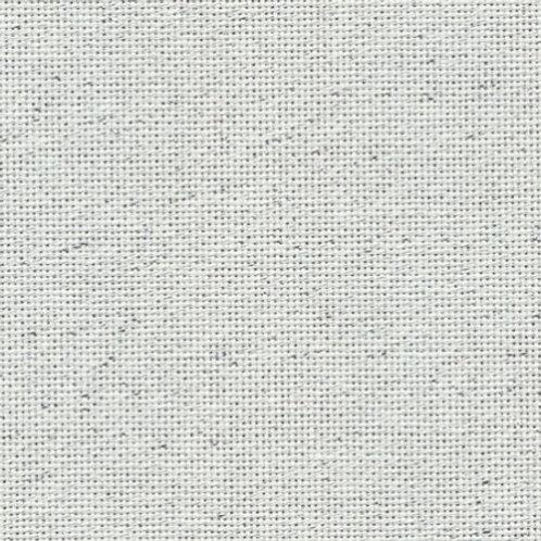Evenweave Metallic Silver (White) | Zweigart