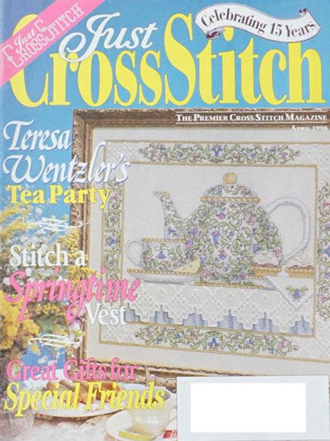 Just Cross Stitch April 1998