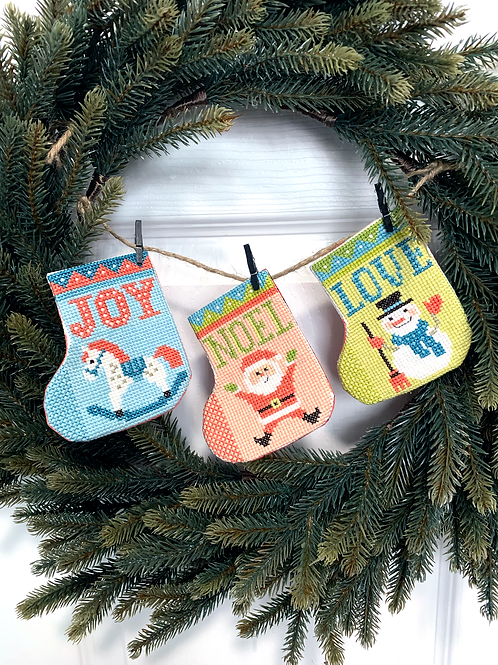 Gift Stockings Bunting | Tiny Modernist
