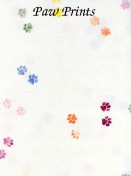 Paw Prints   Hardanger   Silkweaver Fabric