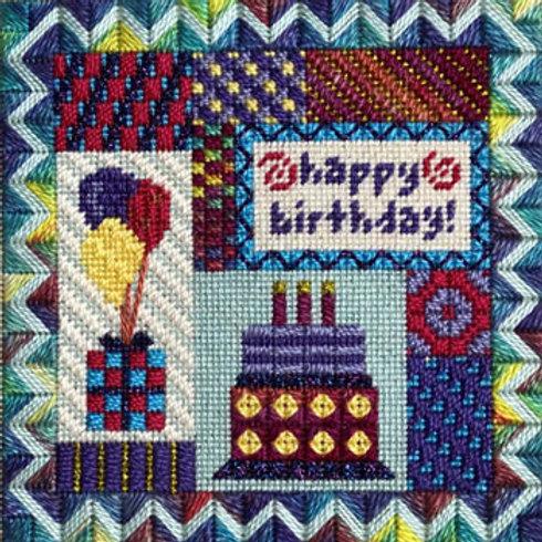 Holiday Delights - Happy Birthday| Needle Delights Originals